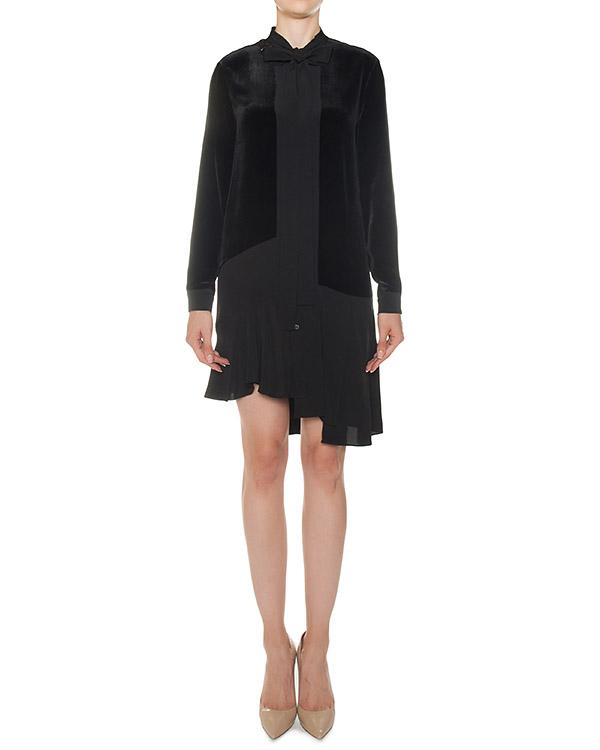 платье из вискозы с шелковой отделкой артикул N2MH192-5047 марки № 21 купить за 43800 руб.