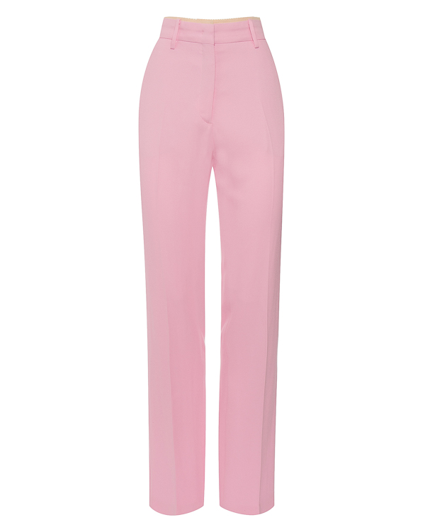 брюки прямого силуэта из вискозы  артикул N2S0B041 марки № 21 купить за 20400 руб.
