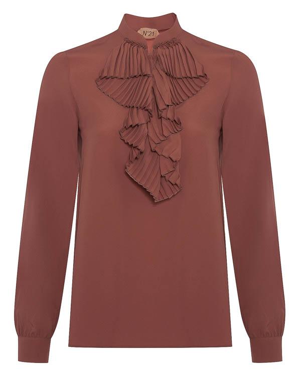 блуза с добавлением шелка артикул N2SG071 марки № 21 купить за 24400 руб.