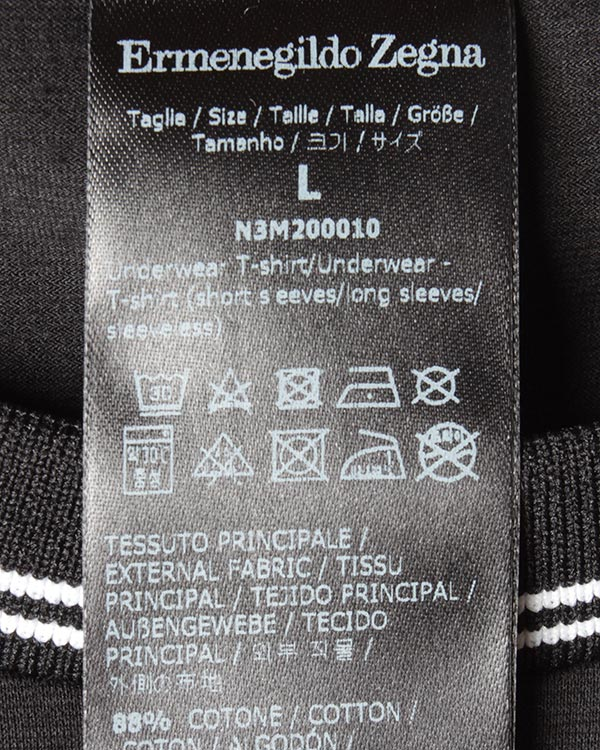 мужская футболка Ermenegildo Zegna, сезон: лето 2017. Купить за 3100 руб. | Фото $i