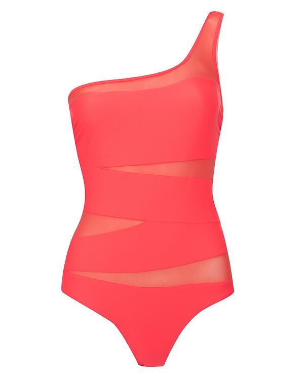 купальник на одно плечо с сетчатыми вставками  артикул NY017/19 марки Natayakim купить за 28800 руб.