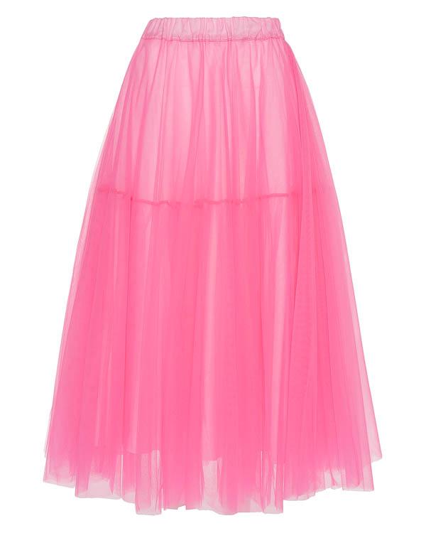 юбка пачка из неонового фатина артикул NYLFLUO620029X марки P.A.R.O.S.H. купить за 16900 руб.