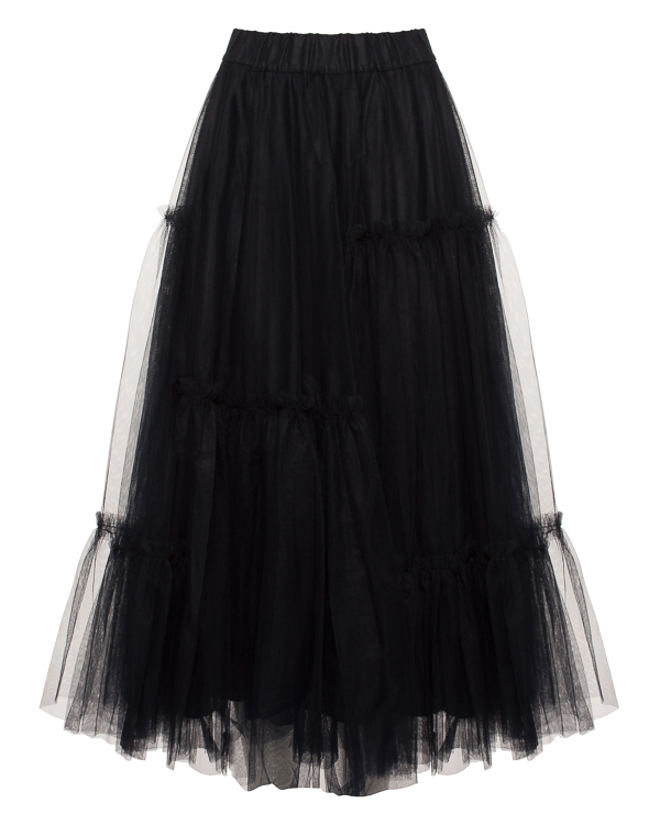 юбка пачка из тюлевой сетки артикул NYLFLUO620258 марки P.A.R.O.S.H. купить за 20900 руб.