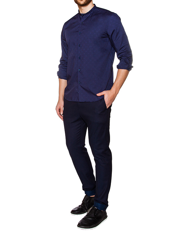 мужская рубашка Obvious Basic, сезон: лето 2016. Купить за 5700 руб. | Фото $i
