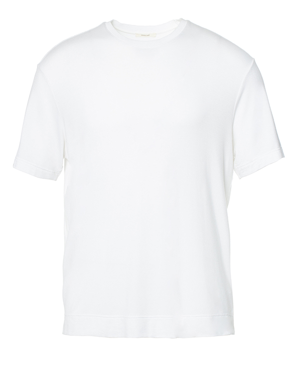 футболка из мягкого трикотажа в полоску артикул OBS16265J118 марки Obvious Basic купить за 4100 руб.