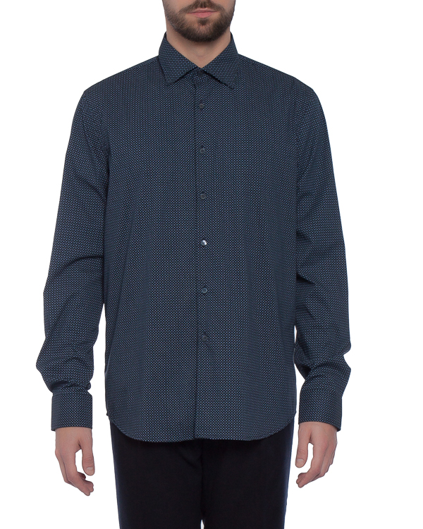 мужская рубашка Obvious Basic, сезон: зима 2017/18. Купить за 4600 руб. | Фото $i