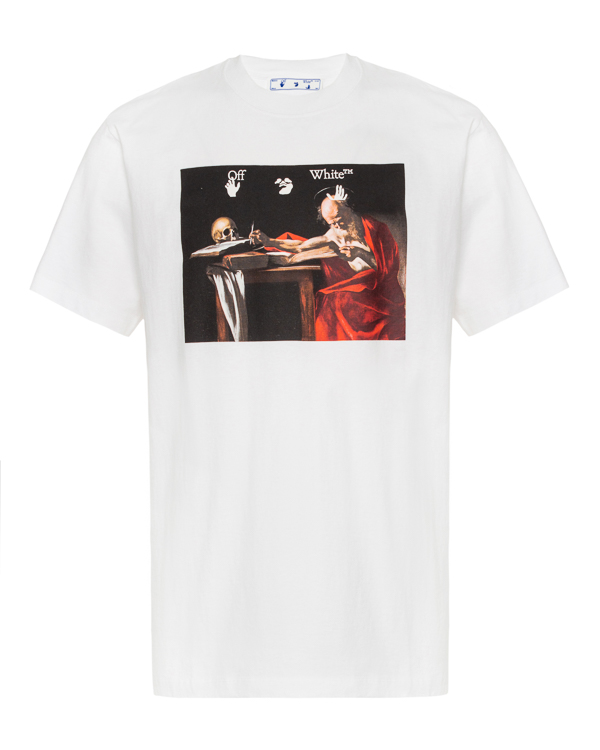 Off-White с художественным арт-принтом  артикул  марки Off-White купить за 27500 руб.
