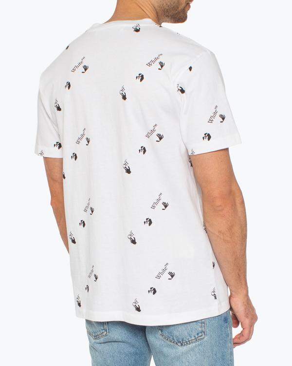 Мужская футболка Off-White, сезон: лето 2021. Купить за 32700 руб. | Фото 3