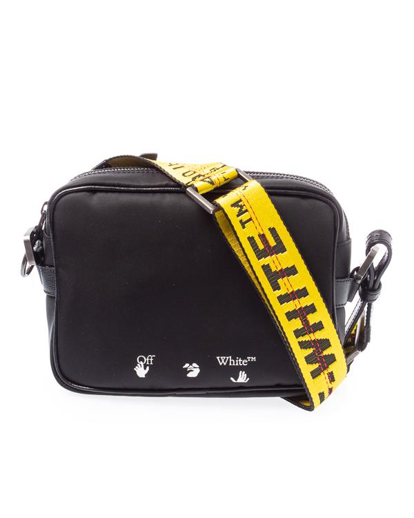 сумка Off-White OMNA049F20FAB0011001 UNI черный+желтый
