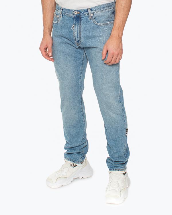 Мужская джинсы Off-White, сезон: лето 2021. Купить за 42200 руб.   Фото 2