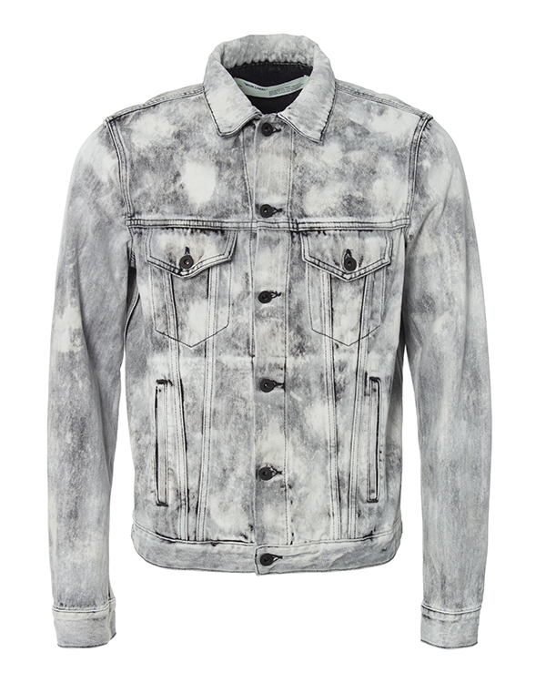 Off-White streetwear из плотного денима с принтом артикул  марки Off-White купить за 62300 руб.