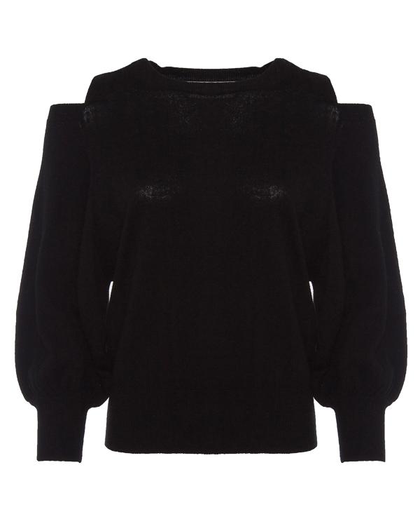 джемпер из шерсти и кашемира с вырезами на плечах артикул OPERAS марки Essentiel купить за 5900 руб.
