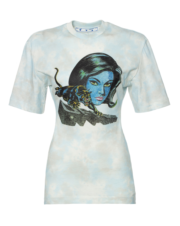Off-White приталенного силуэта из хлопка  артикул  марки Off-White купить за 27500 руб.