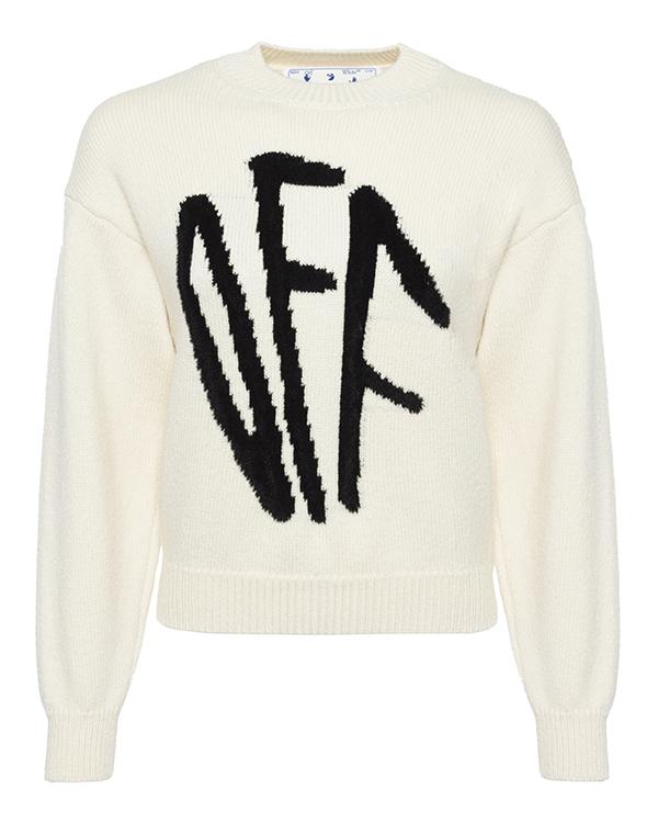 Off-White вязаный из шерсти  артикул  марки Off-White купить за 54100 руб.