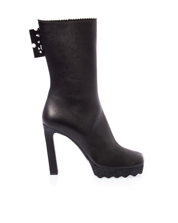 Off-White из кожи на высоком каблуке  артикул  марки Off-White купить за 75400 руб.