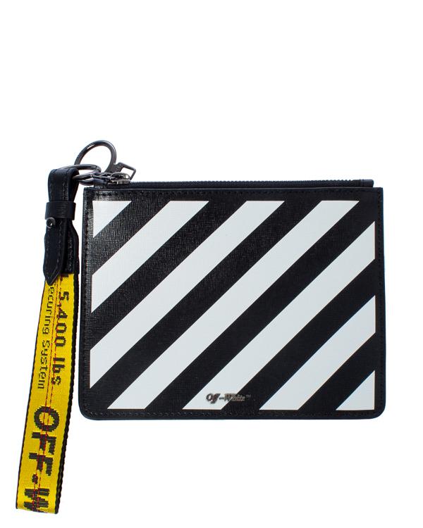 Off-White -кошелек из сафьяновой кожи артикул  марки Off-White купить за 41800 руб.