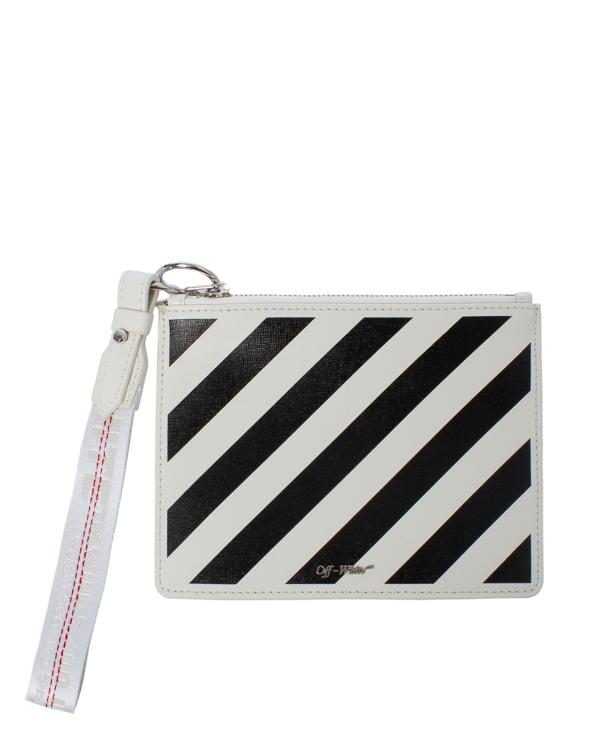 Off-White -кошелек из сафьяновой кожи  артикул  марки Off-White купить за 41900 руб.