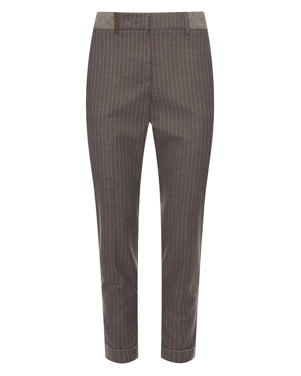 Peserico из костюмного материала в тонкую полоску артикул P04559-A1946 марки Peserico купить за 28400 руб.