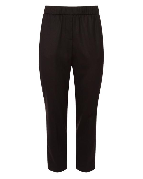 брюки из костюмной шерсти с отделкой фирменными нитями «монили» артикул P04684 марки Peserico купить за 32800 руб.