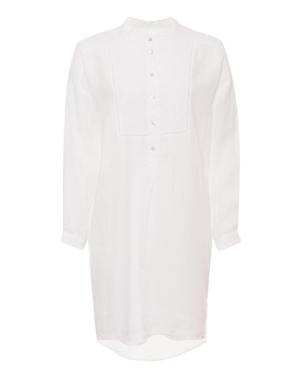 120% lino -рубашка из тонкого льна  артикул  марки 120% lino купить за 10200 руб.