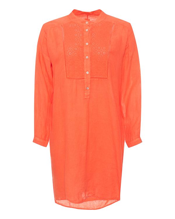120% lino -рубашка из тонкого льна  артикул P0W40C7 марки 120% lino купить за 7100 руб.