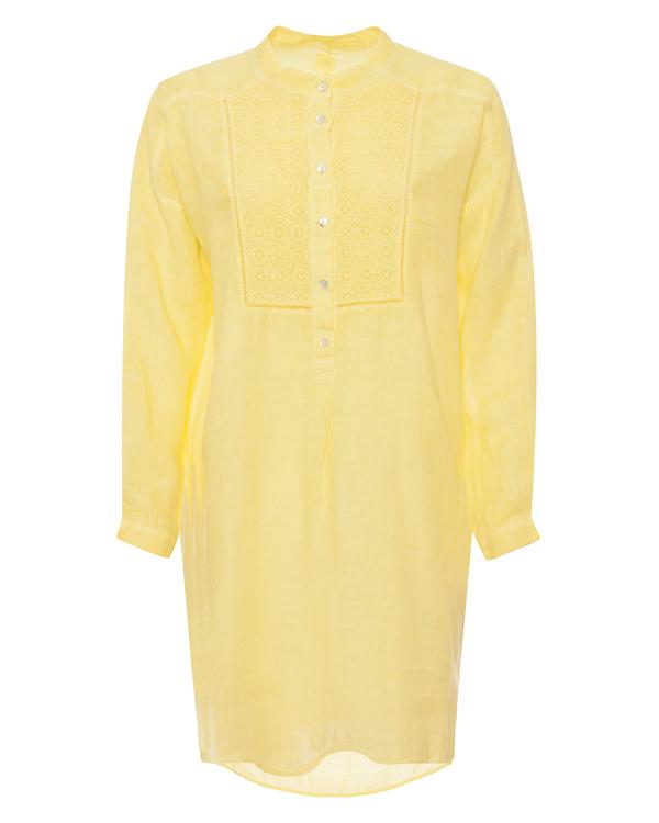 120% lino рубашка из тонкого льна  артикул P0W40C7 марки 120% lino купить за 7100 руб.