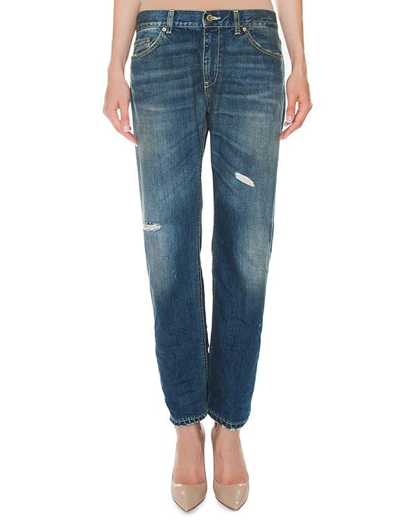 джинсы Boyfriend из плотного денима артикул P611-P66 марки DONDUP купить за 13900 руб.
