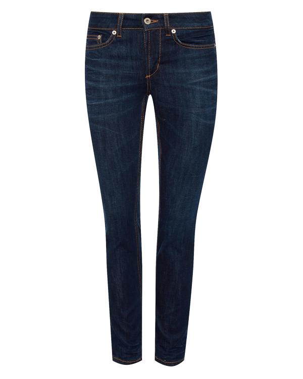 джинсы Slim из плотного денима  артикул P692DS107D марки DONDUP купить за 10400 руб.