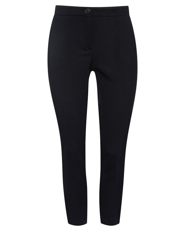 брюки укороченного силуэта из костюмной шерсти артикул P7AP06 марки Erika Cavallini купить за 15200 руб.