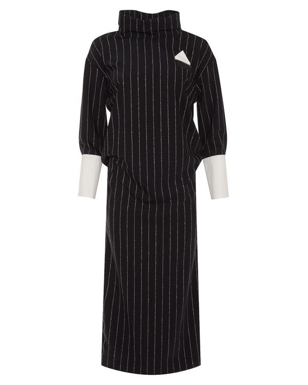 Erika Cavallini из костюмной шерсти с отделкой хлопком артикул P8AL30 марки Erika Cavallini купить за 47800 руб.
