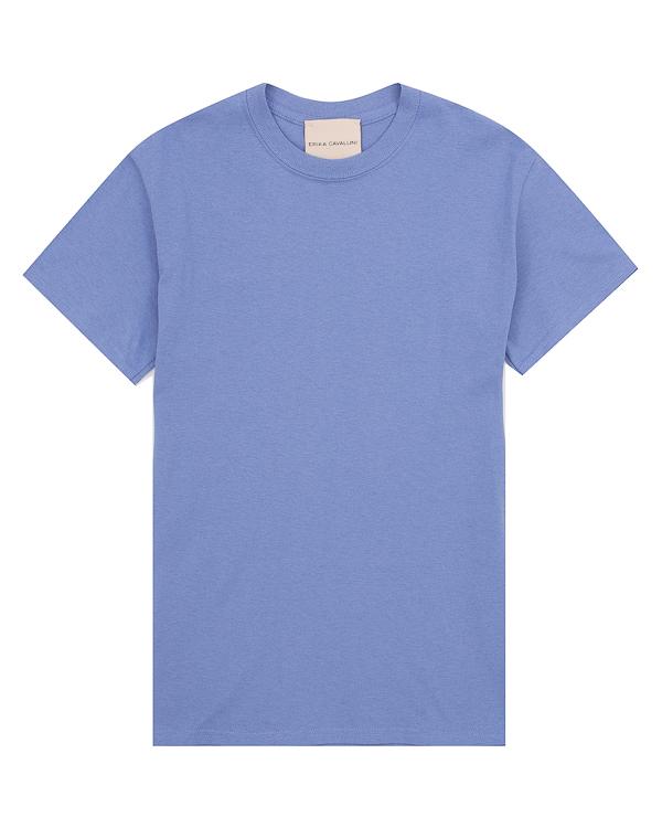 футболка с принтом на спине  артикул P8PH05 марки Erika Cavallini купить за 8100 руб.
