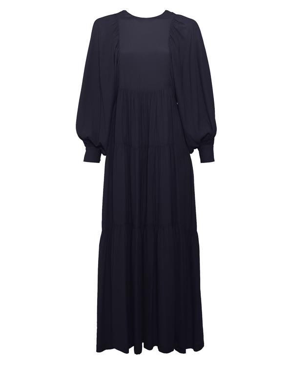 платье макси с рукавами-фонариками  артикул P8PT14 марки Erika Cavallini купить за 45500 руб.