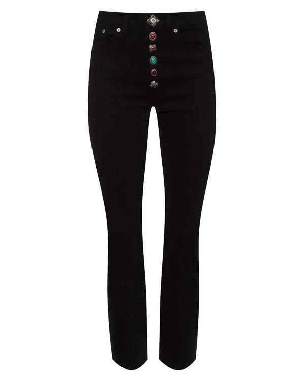 джинсы укороченного силуэта  артикул P976DS140D марки DONDUP купить за 10400 руб.
