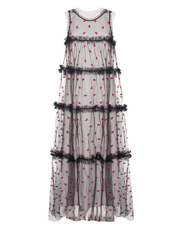 платье А-образного силуэта  артикул PALABRA721448 марки P.A.R.O.S.H. купить за 33700 руб.