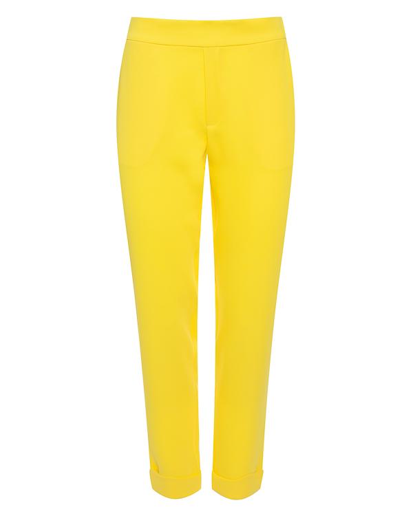 брюки укороченного силуэта из крепа артикул PANTERY230162X марки P.A.R.O.S.H. купить за 14600 руб.