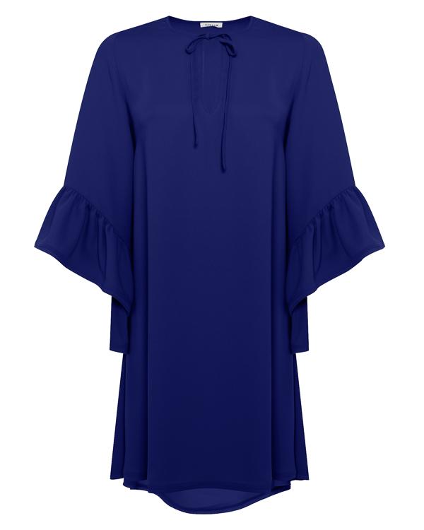 платье из крепа с оборками  артикул PANTERY730401 марки P.A.R.O.S.H. купить за 27400 руб.