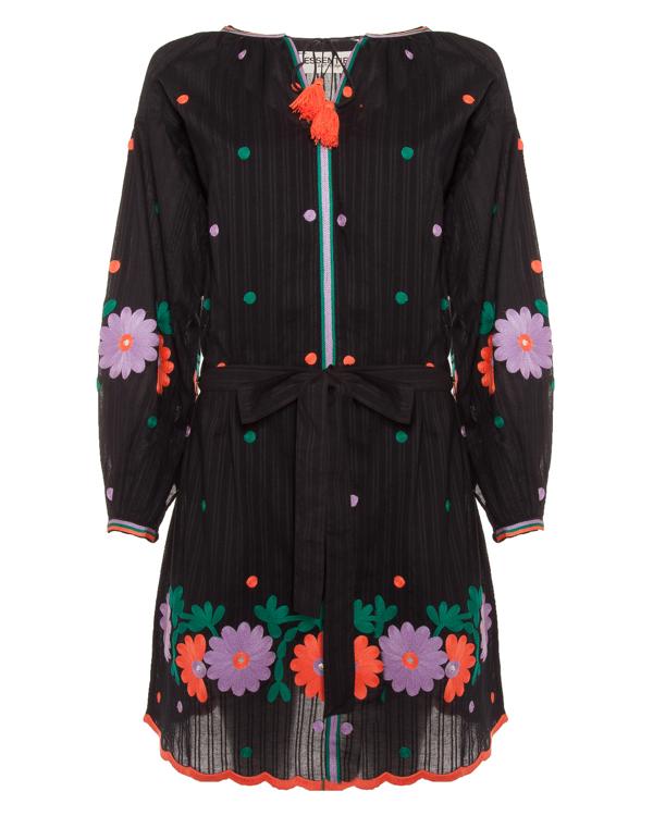 платье из тонкого хлопка с яркой вышивкой  артикул PARISHILTON марки Essentiel купить за 21500 руб.