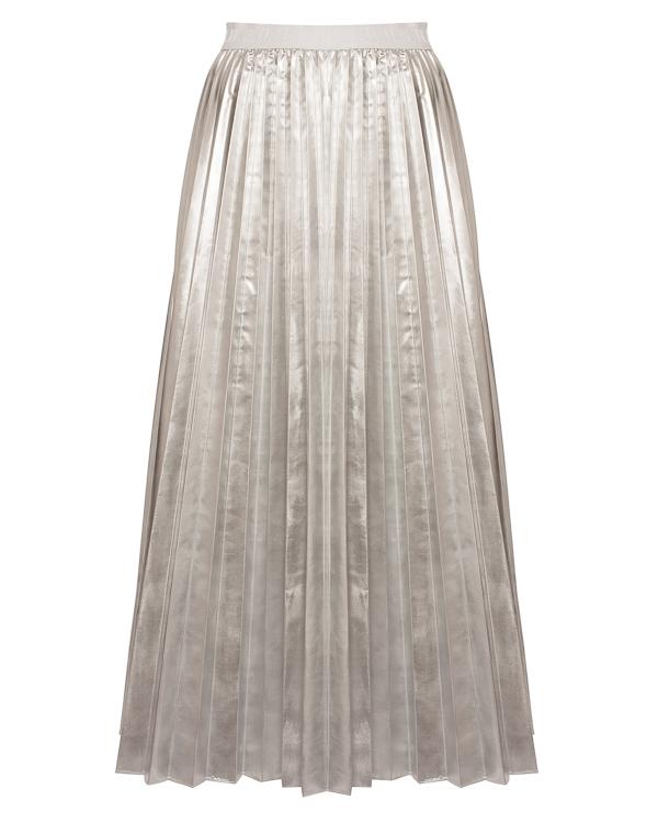 P.A.R.O.S.H. миди из металлизированного материала артикул PARKING620554 марки P.A.R.O.S.H. купить за 14200 руб.