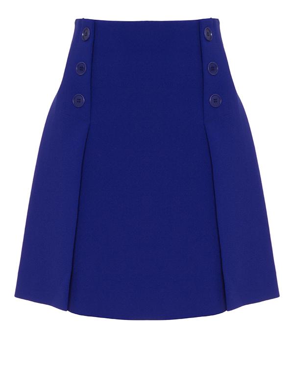 юбка мини из плотного крепа артикул PASTELLO620228 марки P.A.R.O.S.H. купить за 14400 руб.