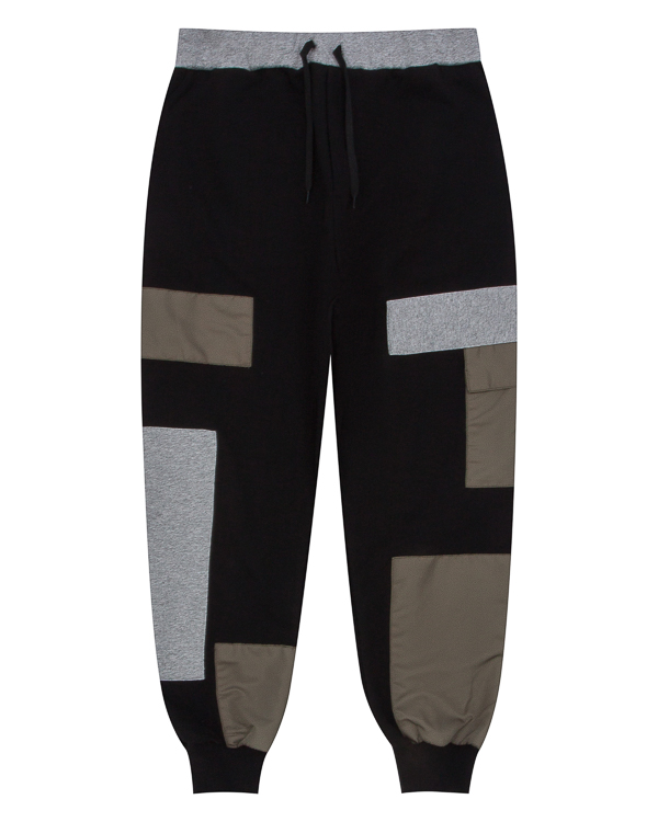 брюки спортивного кроя с отделкой артикул PCHJRS01 марки Letasca купить за 9600 руб.