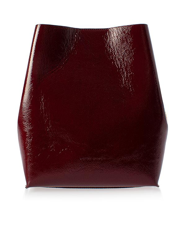 Rebecca Minkoff backet bag из мятой лаковой кожи  артикул  марки Rebecca Minkoff купить за 15400 руб.