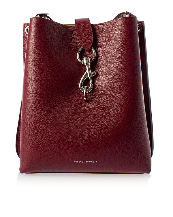 Rebecca Minkoff Meghan backet bag из шагреневой кожи  артикул  марки Rebecca Minkoff купить за 33400 руб.