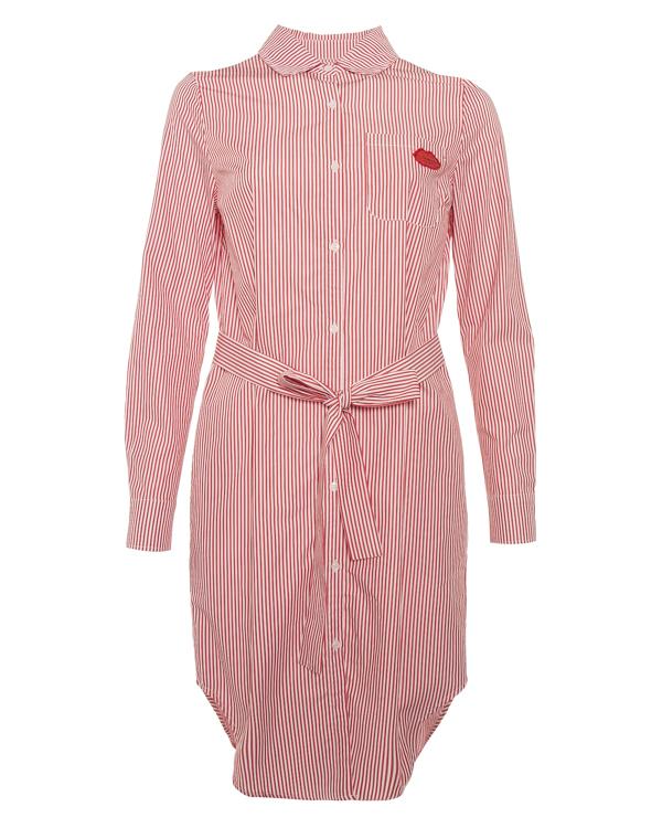 платье рубашечного кроя из хлопка в тонкую полоску  артикул PINOKKIO марки Essentiel купить за 12800 руб.
