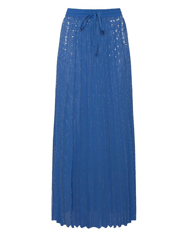 юбка макси с отделкой пайетками артикул PLOTTER600507 марки P.A.R.O.S.H. купить за 22700 руб.