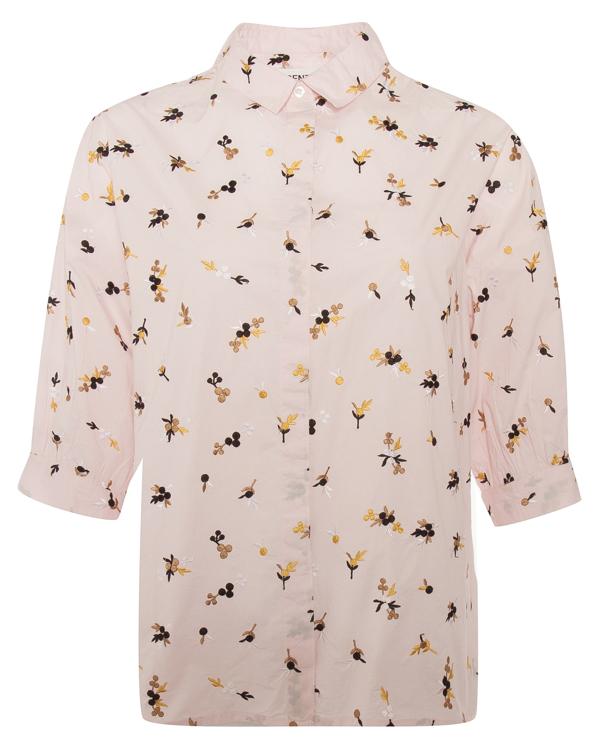 рубашка из хлопка с вышивкой  артикул POMMELINE марки Essentiel купить за 16400 руб.