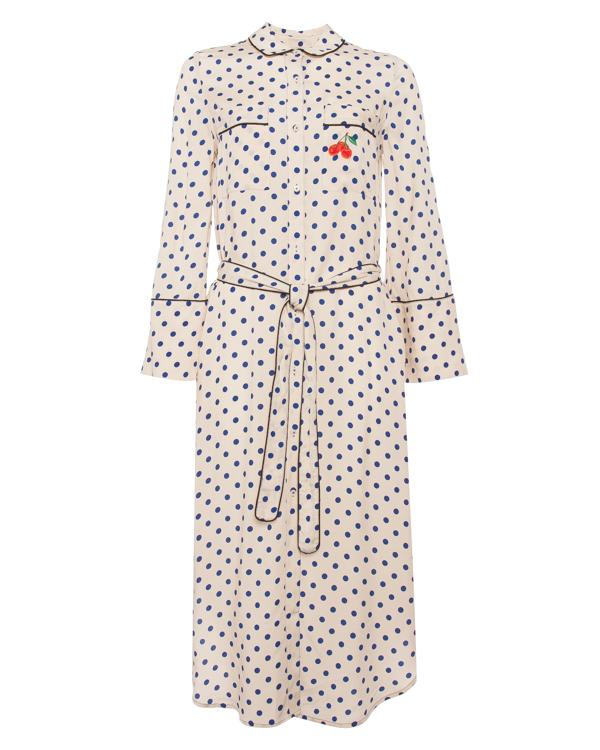 Essentiel Antwerp из вискозы в пижамном стиле артикул POURYOU марки Essentiel купить за 20500 руб.