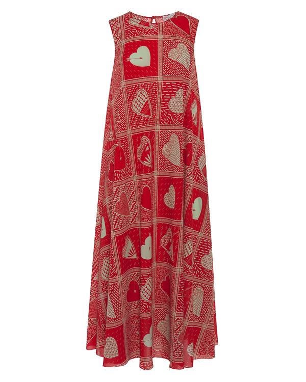 RED Valentino миди А-образного силуэта  артикул PR0VA6I5 марки Valentino Red купить за 47000 руб.