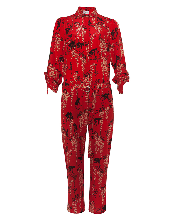 RED Valentino из шелка с принтом артикул PR0VE0L0 марки Valentino Red купить за 40000 руб.