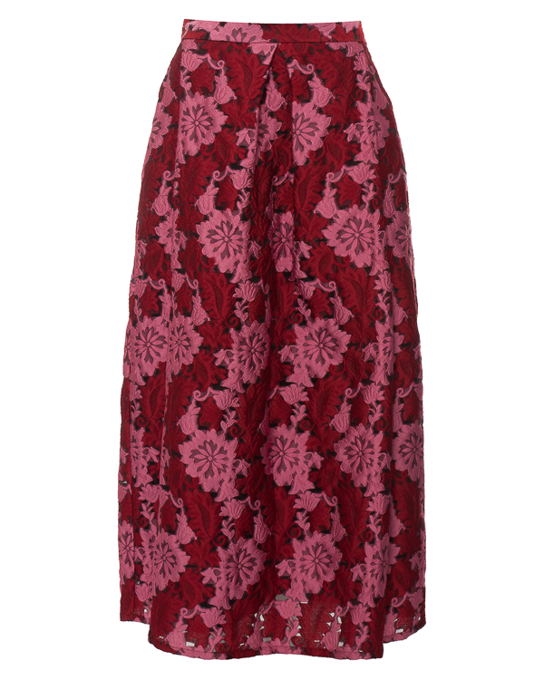 юбка с фактурным цветочным узором артикул PROUST620091 марки P.A.R.O.S.H. купить за 19200 руб.