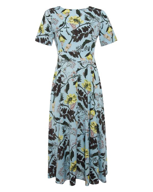 платье миди из тонкого цветочного крепа  артикул PS марки Essentiel купить за 20500 руб.